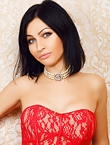Photo of beautiful  woman Irina with black hair and blue eyes - 19224